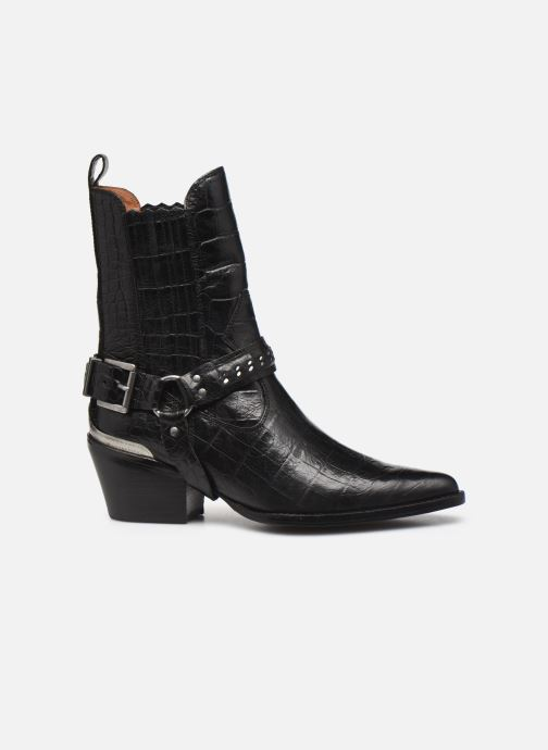 Boots en enkellaarsjes Bronx JUKESON 47252 Zwart achterkant