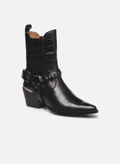 Boots en enkellaarsjes Bronx JUKESON 47252 Zwart detail