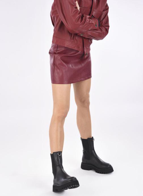 Bottines et boots Bronx GROOV-Y 47268 Noir vue bas / vue portée sac