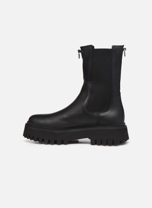 Bottines et boots Bronx GROOV-Y 47268 Noir vue face