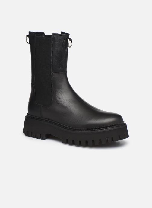 Boots en enkellaarsjes Bronx GROOV-Y 47268 Zwart detail