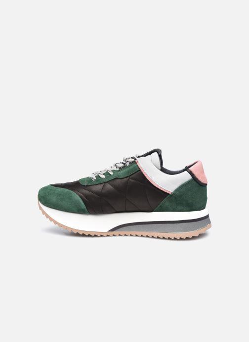 Sneaker Bronx NOLA-ISA grün ansicht von vorne