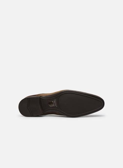 Zapatos con cordones Doucal's DU1142 Marrón vista de arriba