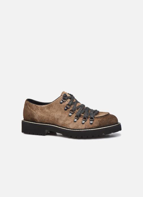Zapatos con cordones Doucal's DU2736 Marrón vistra trasera