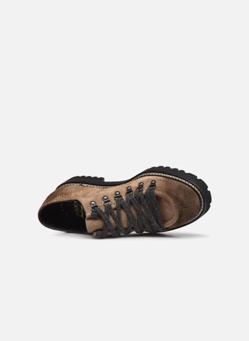 Zapatos con cordones Doucal's DU2736 Marrón vista lateral izquierda