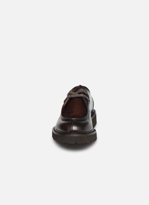 Zapatos con cordones Doucal's DU2737 Marrón vista del modelo