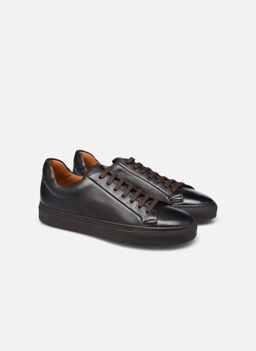 Sneaker Doucal's DU1796 braun 3 von 4 ansichten