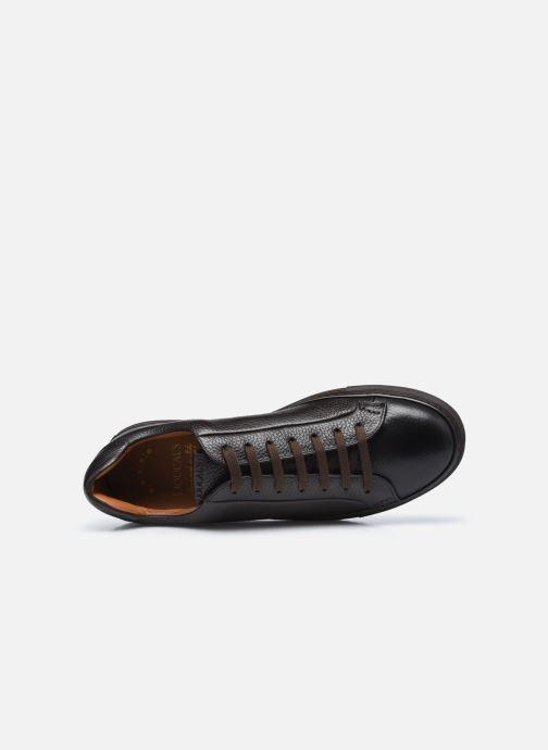 Sneaker Doucal's DU1796 braun ansicht von links