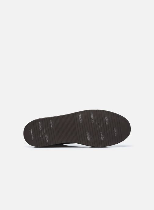 Sneaker Doucal's DU1796 braun ansicht von oben