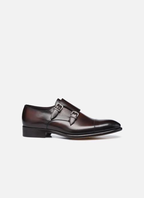 Chaussure à boucle Doucal's DU2743 Marron vue derrière