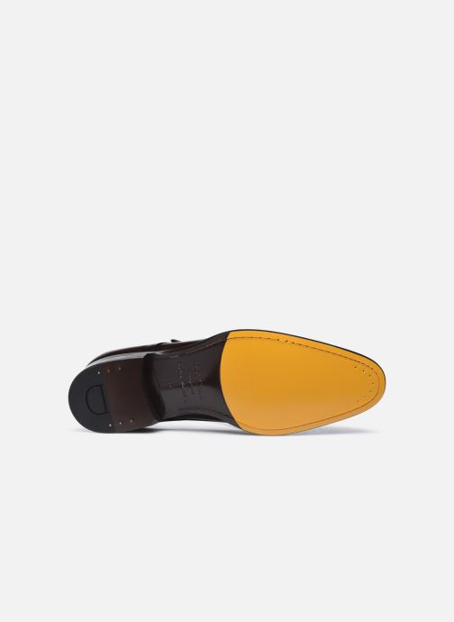 Chaussure à boucle Doucal's DU2743 Marron vue haut