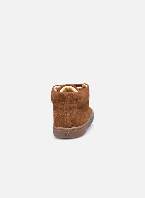 Stivaletti e tronchetti Shoesme Shoesme Flex Marrone immagine destra
