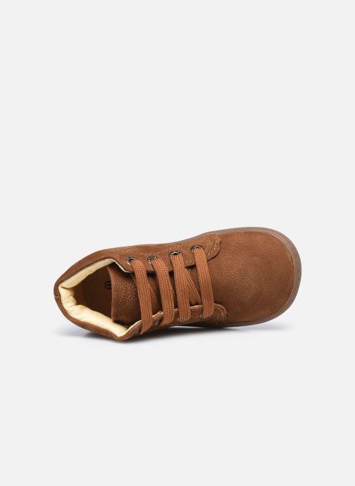 Stivaletti e tronchetti Shoesme Shoesme Flex Marrone immagine sinistra