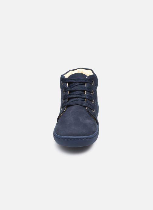 Stivaletti e tronchetti Shoesme Shoesme Flex Azzurro modello indossato