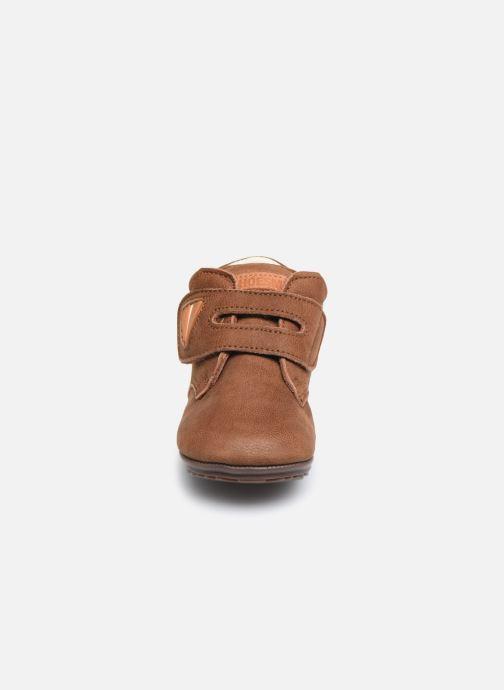 Bottines et boots Shoesme BP smart V Laces Marron vue portées chaussures