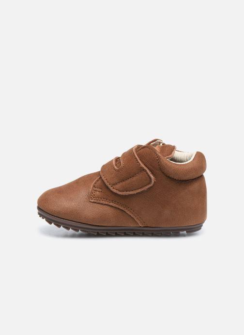 Bottines et boots Shoesme BP smart V Laces Marron vue face