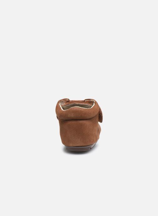Bottines et boots Shoesme BP smart V Laces Marron vue droite