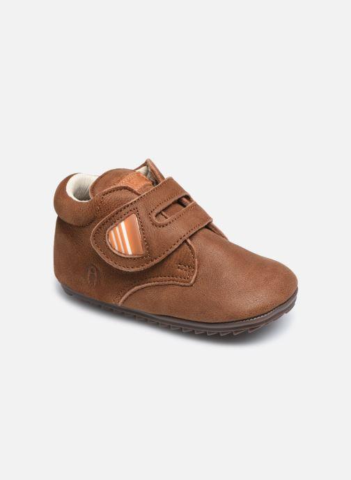 Bottines et boots Shoesme BP smart V Laces Marron vue détail/paire