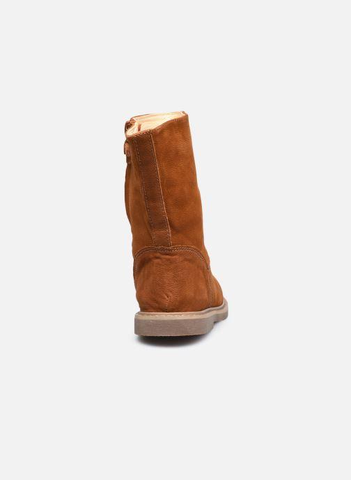 Botas Shoesme Crepe Marrón vista lateral derecha