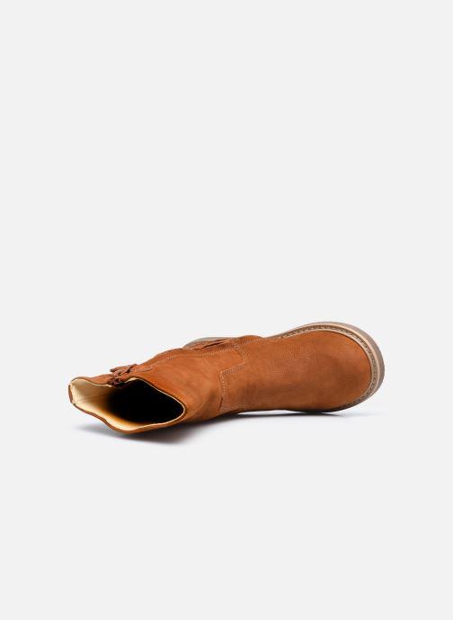 Botas Shoesme Crepe Marrón vista lateral izquierda