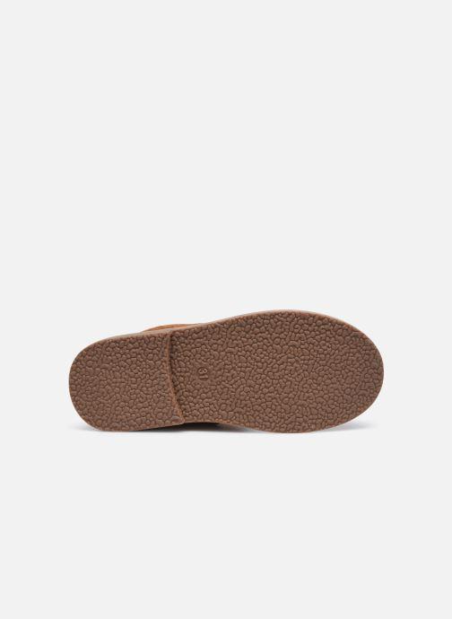 Botas Shoesme Crepe Marrón vista de arriba