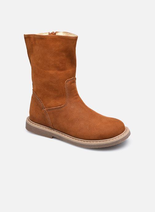 Bottes Shoesme Crepe Marron vue détail/paire