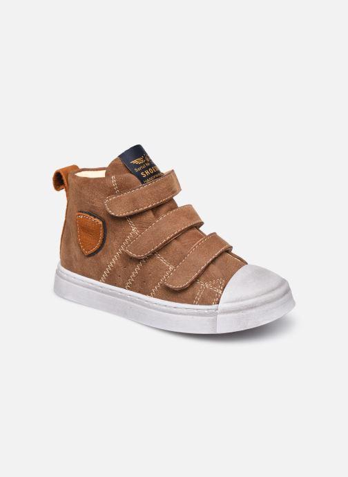 Sneakers Shoesme Shoesme VL Bruin detail