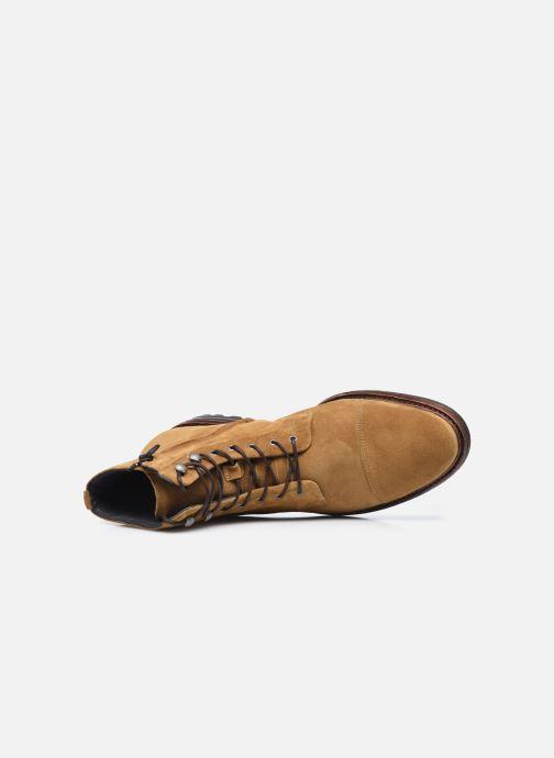 Bottines et boots Blackstone UG20 Marron vue gauche