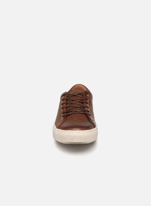 Sneaker Blackstone UG35 braun schuhe getragen