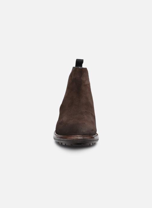 Stiefeletten & Boots Blackstone UG23 braun schuhe getragen
