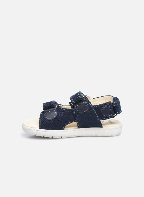 Sandales et nu-pieds Geox B Sandal Alul Boy B021VC Bleu vue face
