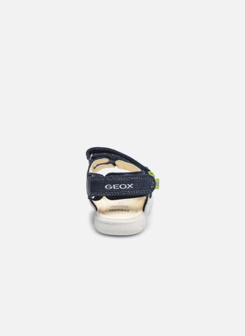 Sandales et nu-pieds Geox B Sandal Alul Boy B021VC Bleu vue droite