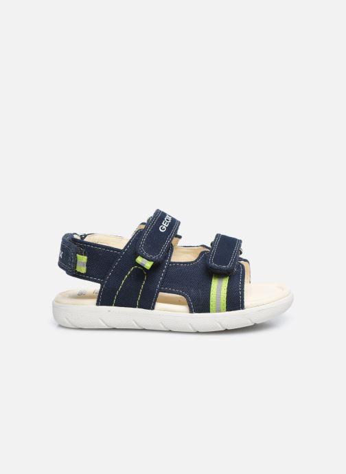 Sandales et nu-pieds Geox B Sandal Alul Boy B021VC Bleu vue derrière