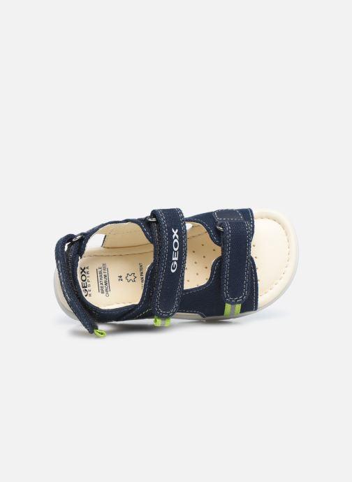 Sandales et nu-pieds Geox B Sandal Alul Boy B021VC Bleu vue gauche