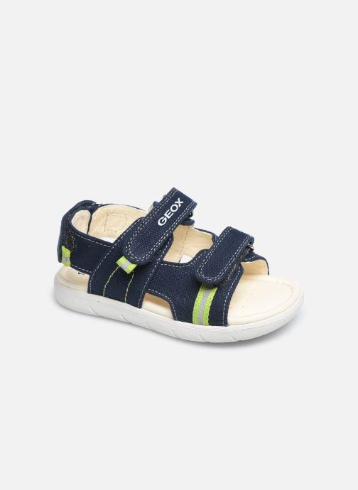 Sandales et nu-pieds Geox B Sandal Alul Boy B021VC Bleu vue détail/paire