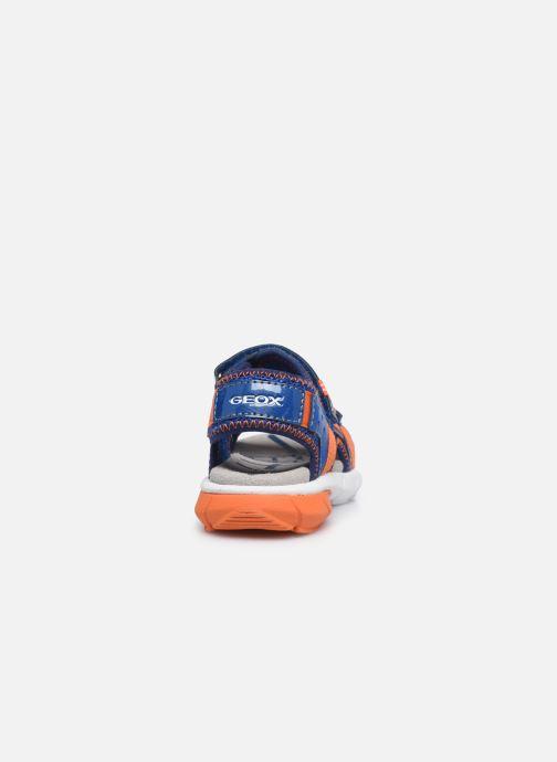Sandales et nu-pieds Geox B Sandal Flexyper Bo Bleu vue droite