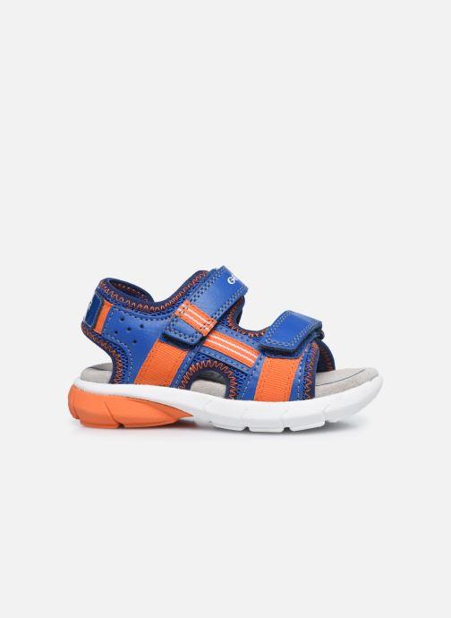 Sandales et nu-pieds Geox B Sandal Flexyper Bo Bleu vue derrière