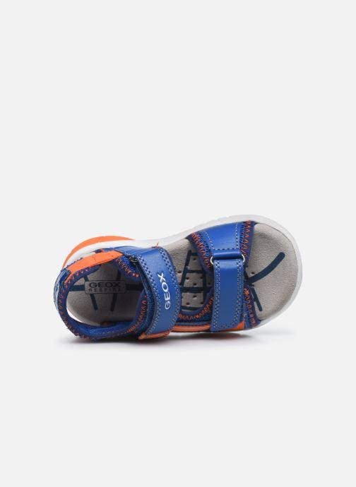 Sandales et nu-pieds Geox B Sandal Flexyper Bo Bleu vue gauche