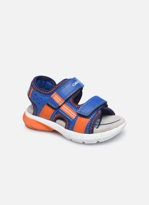 Sandales et nu-pieds Geox B Sandal Flexyper Bo Bleu vue détail/paire