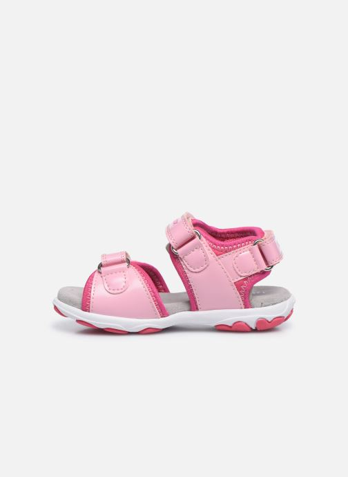 Sandalen Geox B Sandal Cuore B0290A rosa ansicht von vorne