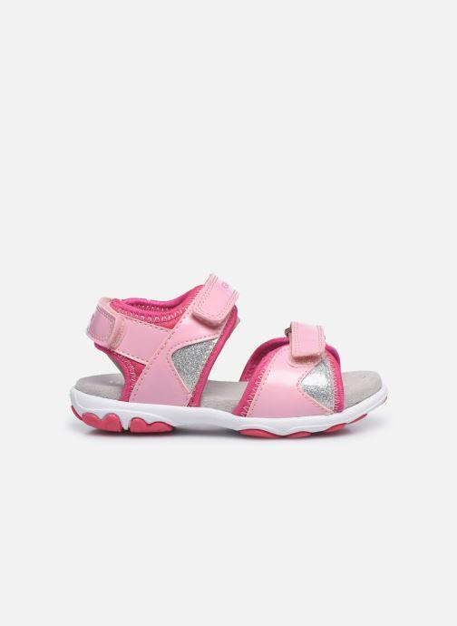 Sandales et nu-pieds Geox B Sandal Cuore B0290A Rose vue derrière