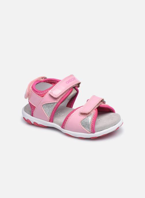 Sandales et nu-pieds Geox B Sandal Cuore B0290A Rose vue détail/paire