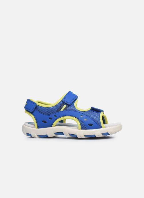 Sandales et nu-pieds Geox Jr Sandal Pianeta J0264B Bleu vue derrière