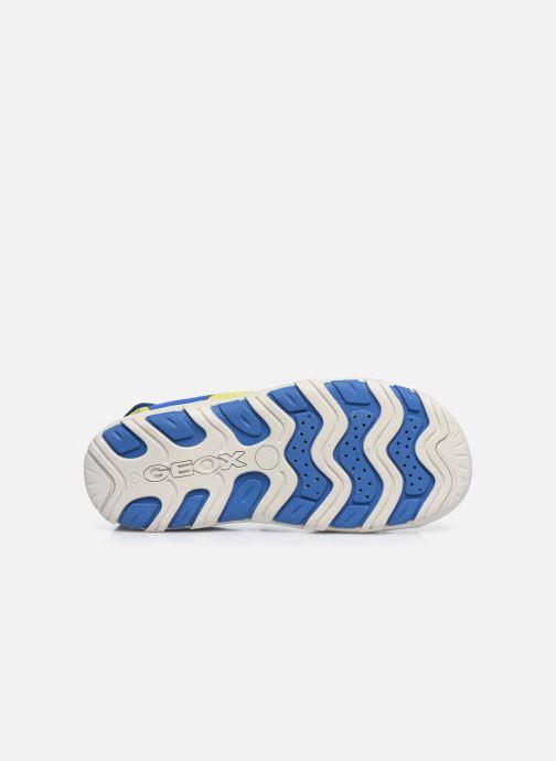 Sandales et nu-pieds Geox Jr Sandal Pianeta J0264B Bleu vue haut