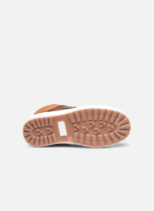 Sneaker Victoria Puzzle piel vegana braun ansicht von oben