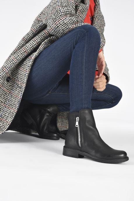 Bottines et boots Blackstone QL04 Noir vue bas / vue portée sac