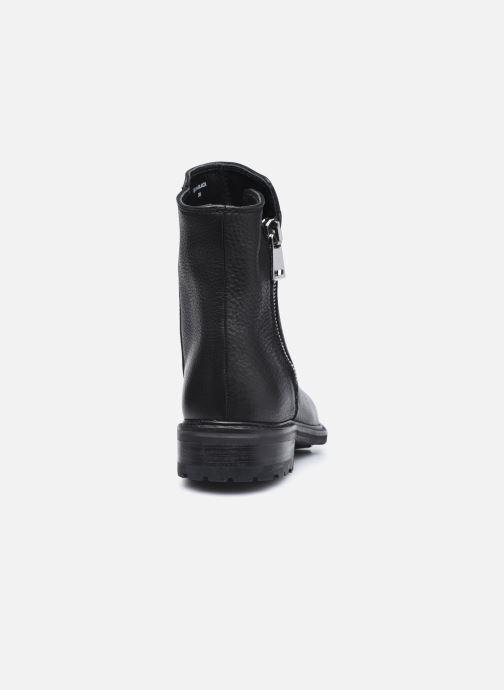 Bottines et boots Blackstone QL04 Noir vue droite