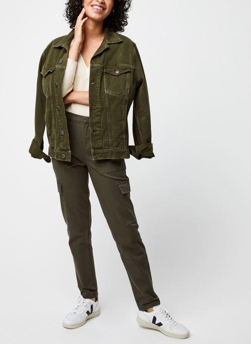 Vêtements MOSS COPENHAGEN Lemony Vert vue bas / vue portée sac