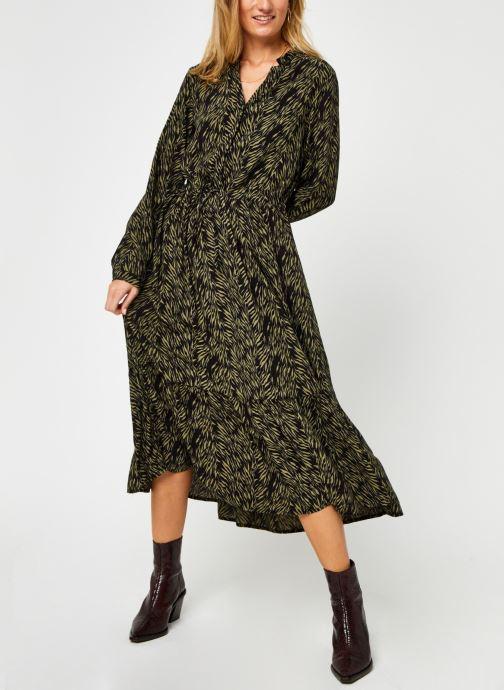 Kleding MOSS COPENHAGEN Calie Robe Zwart detail