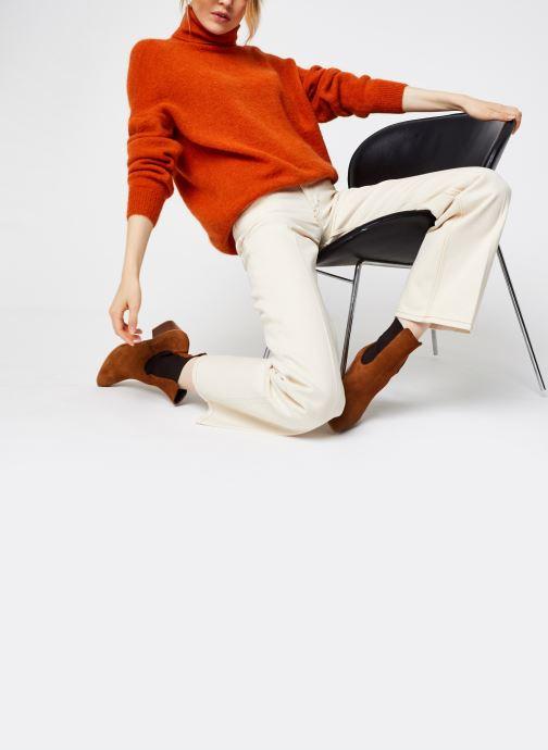 Vêtements MOSS COPENHAGEN Mohair Roll Neck Orange vue bas / vue portée sac